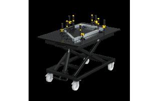 Mobile lifting table