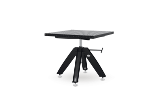 Rotating table height adjustable