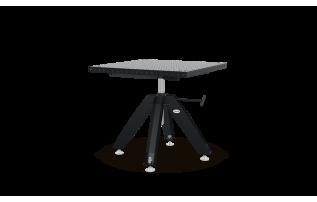 Výškově nastavitelný otočný stůl